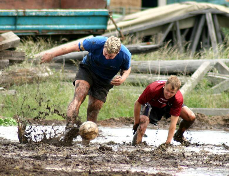 Le football des marais