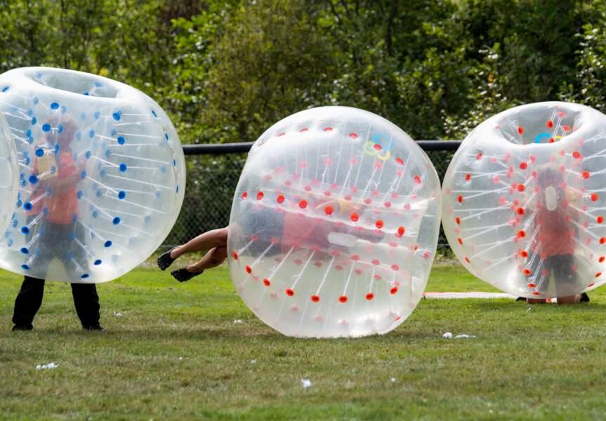 Le bubble-soccer