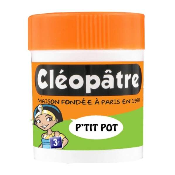 Le pot de colle Cléopâtre