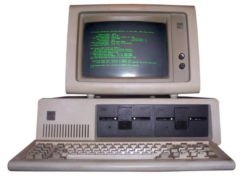 Le premier ordinateur de bureau