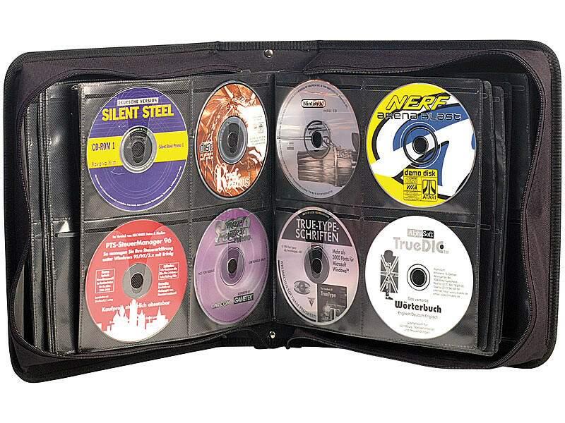 La pochette de rangement pour CD