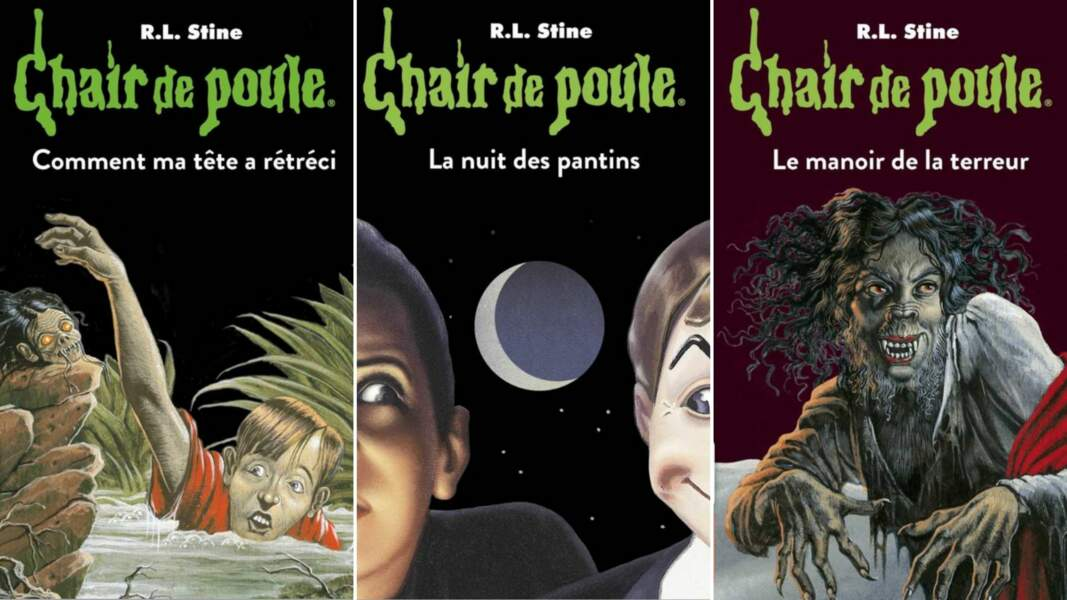 Les livres Chair de Poule