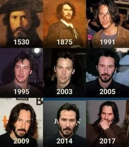 Keanu Reeves est immortel
