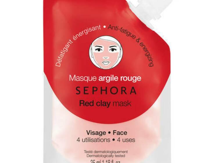 red clay mask masque argile rouge d fatiguant nergisant de sephora profitez et partagez. Black Bedroom Furniture Sets. Home Design Ideas