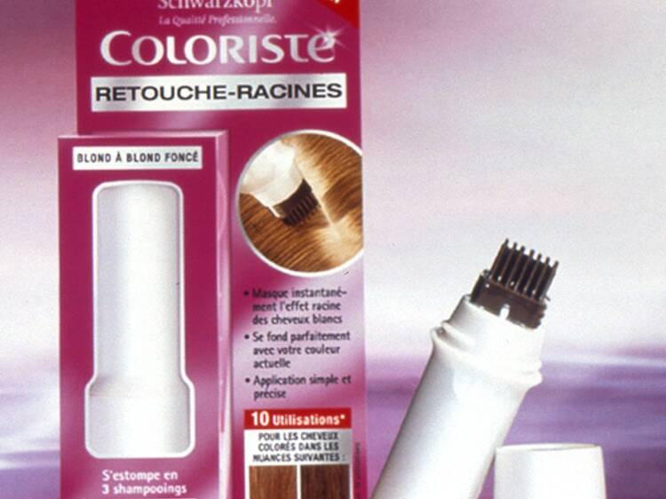 Application retouche couleur de cheveux