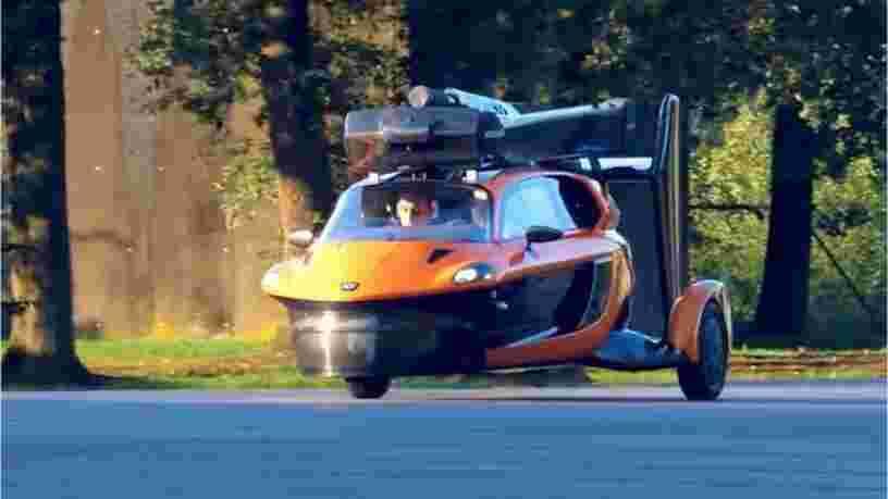 8 'voitures volantes' qui s'apprêtent à faire décoller le marché de la mobilité urbaine