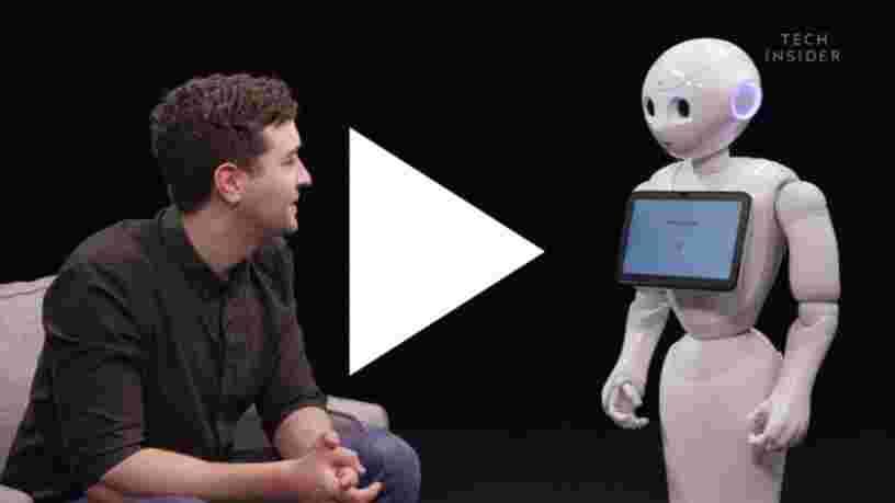 VIDEO: Nous avons interviewé Pepper, le robot humanoïde de SoftBank