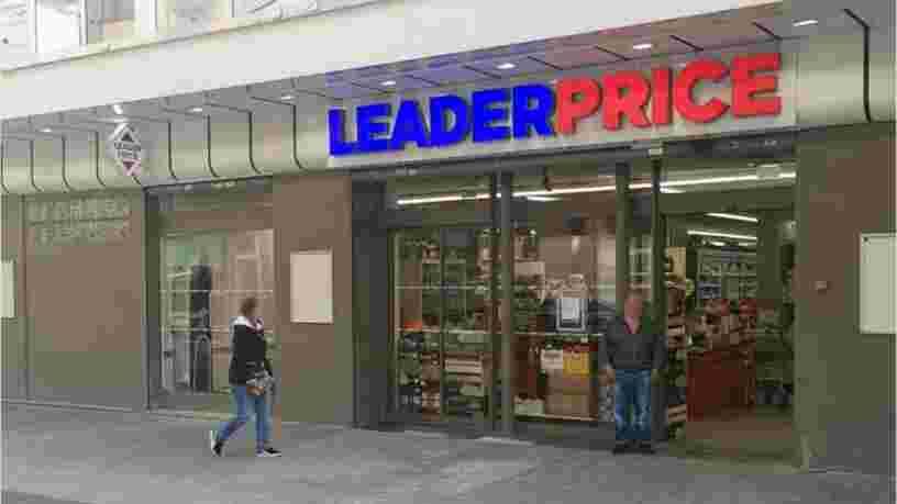 La marque Leader Price va continuer à exister malgré la vente prévue des magasins à Aldi