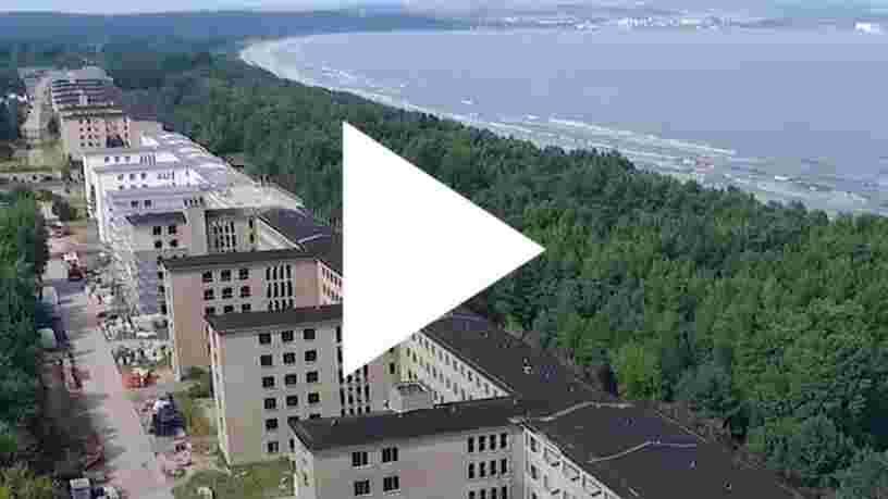 VIDEO: Cette ancien centre de vacances Nazi se transforme en station balnéaire de luxe