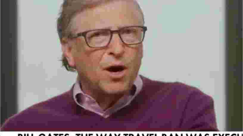Selon Bill Gates, l'interdiction de voyager imposée par Donald Trump aux États-Unis a accéléré la propagation du Covid-19