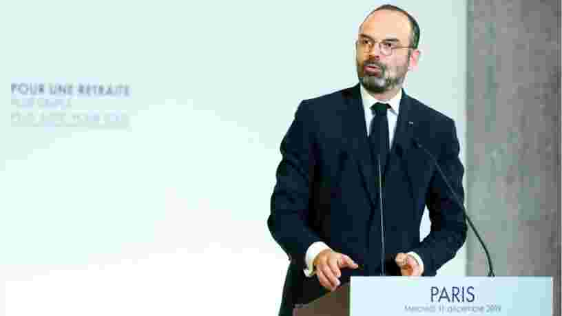 Edouard Philippe officialise le 'système universel par points' pour les retraites et la suppression des régimes spéciaux