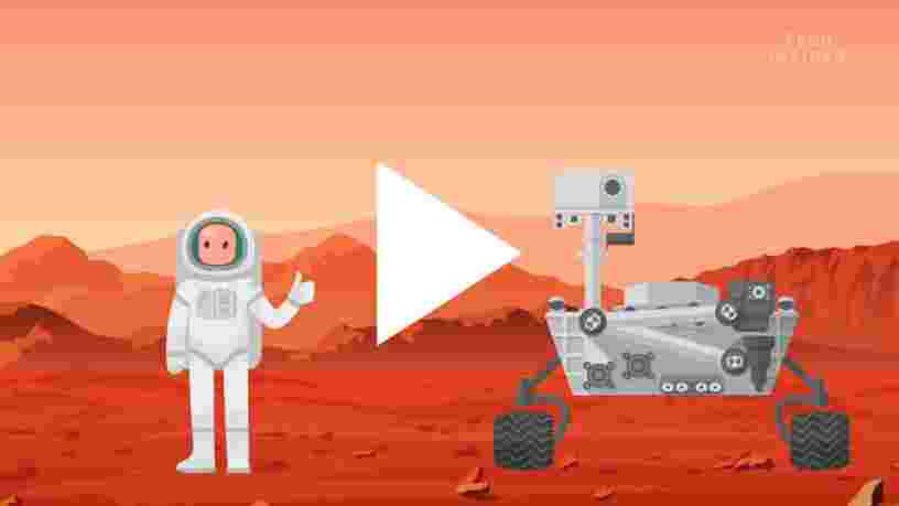 VIDEO: On vous explique pourquoi l'atterrissage sur Mars est assez dangereux et compliqué