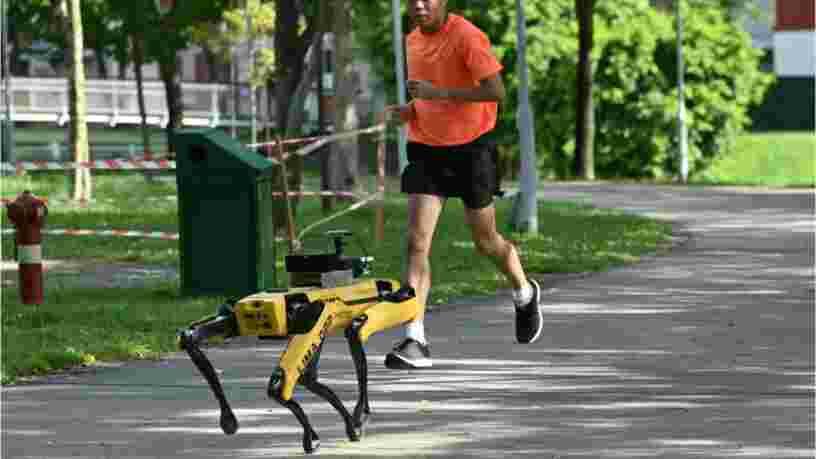 L'armée américaine lance des patrouilles de robots-chiens sur une base en Floride