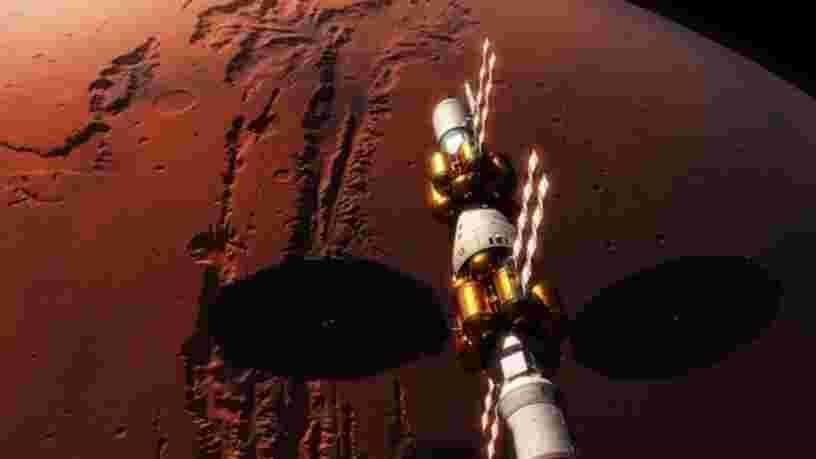 VIDEO: La NASA et Lockheed Martin ont dévoilé leur plan pour construire la toute première station orbitale autour de Mars