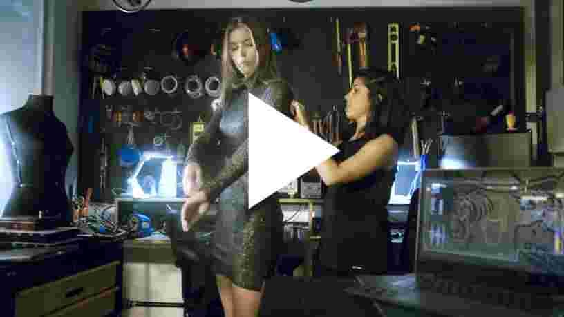 VIDEO: Voici une robe connectée qui détecte les agressions sexuelles