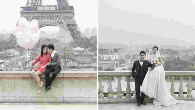 Un photographe a comparé le faux Paris chinois au vrai Paris. Voici le résultat