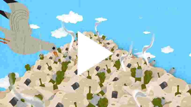 VIDEO: Il existe une île au milieu de l'Océan Pacifique composée de 80.000 tonnes de déchets