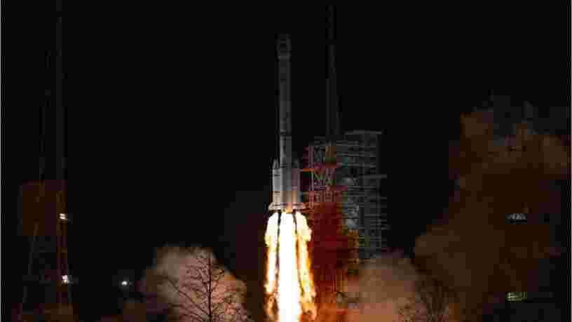 Une partie d'une fusée chinoise est retombée sur Terre et elle ferait environ 2,2 mètres de diamètre