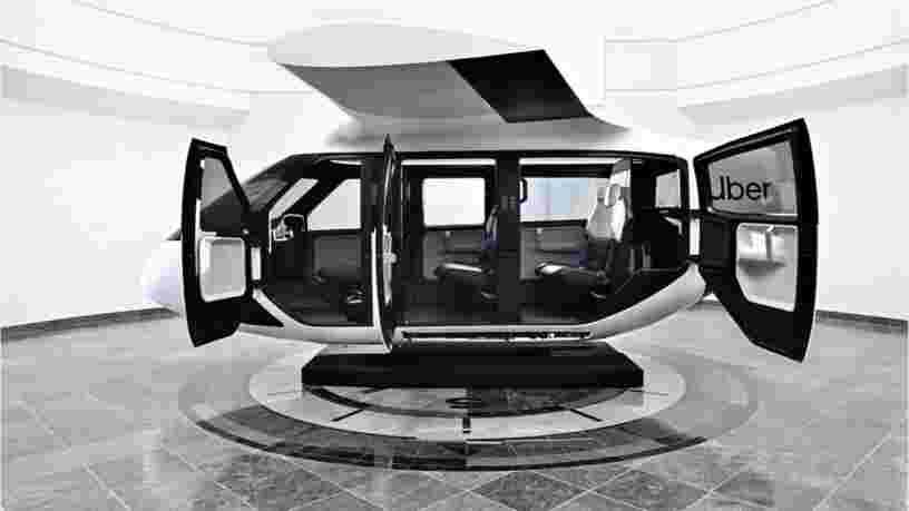 Uber dévoile les premières images de la cabine de son taxi volant