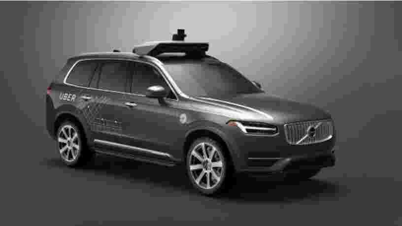 VIDEO: Uber s'est associé à un constructeur européen pour ses premières voitures sans chauffeur