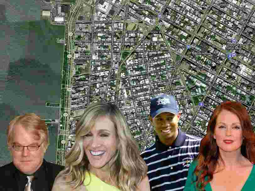 See Where Celebrities And Big Shots Live In NYC's West Village