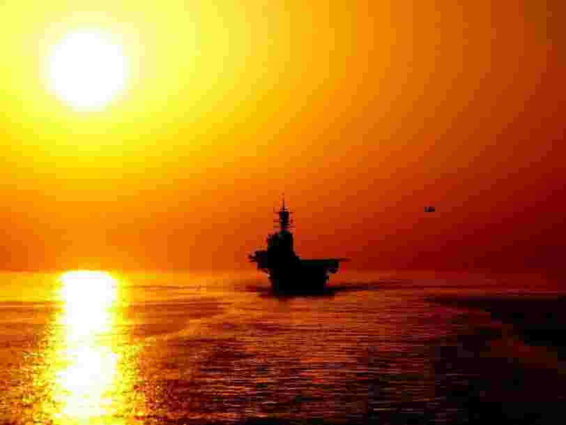 Tensions between the US and Iran are heating up one of the world's most important bodies of water