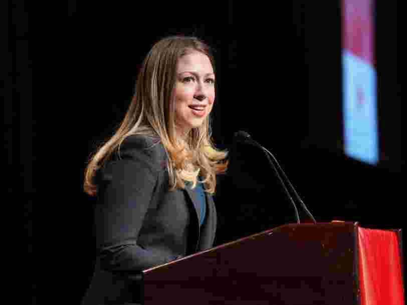 It Looks Like Chelsea Clinton Made $26,724 For Each Minute She Appeared On NBC