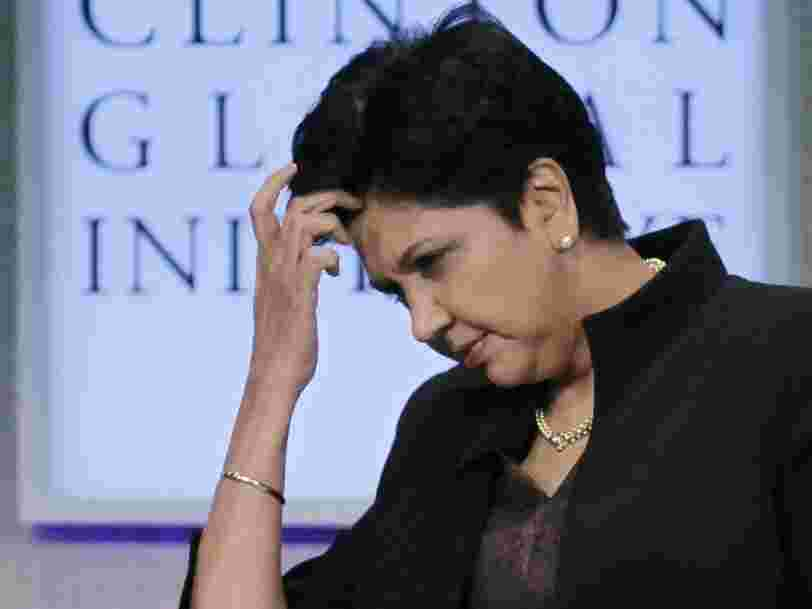 'We can actually count how many there are': Pepsi's Indra Nooyi says she is concerned that her departure means there will be just 24 female CEOs in the Fortune 500