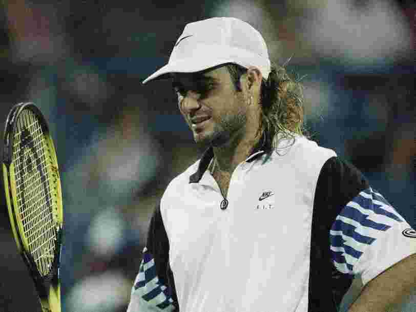 Tony Robbins explains how he helped Andre Agassi out of a slump in 1993