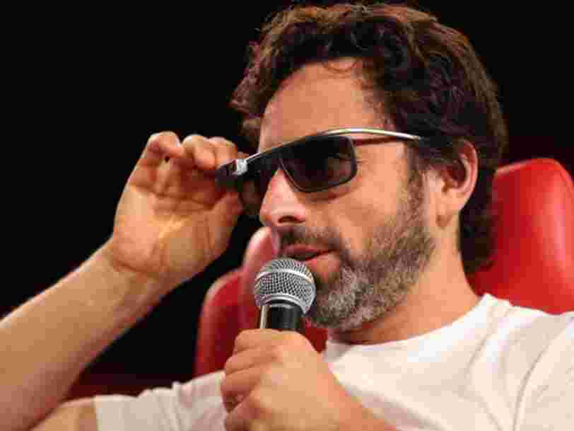Sergey Brin reportedly got one of only six brand new Teslas