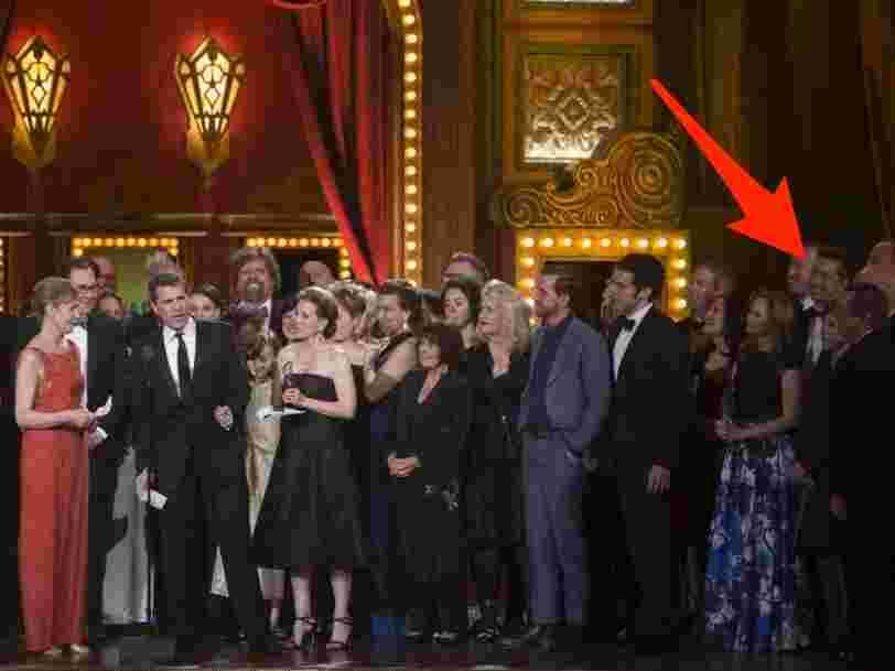 Former Apple exec Scott Forstall is now an award-winning Broadway producer