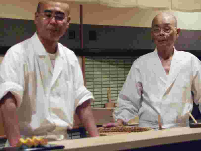 Why women can't be chefs at the famous restaurant from 'Jiro Dreams of Sushi'