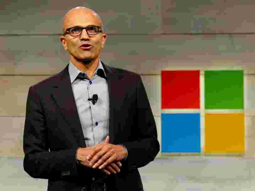 The rise of Satya Nadella, the CEO who totally turned Microsoft around in 5 years and made it more valuable than Apple