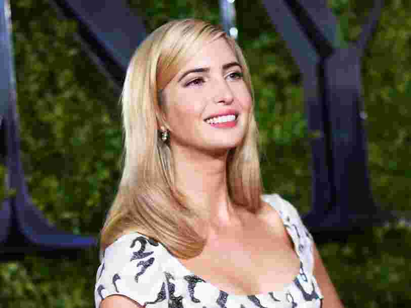 Ivanka Trump shares her top 2 tricks for staying productive