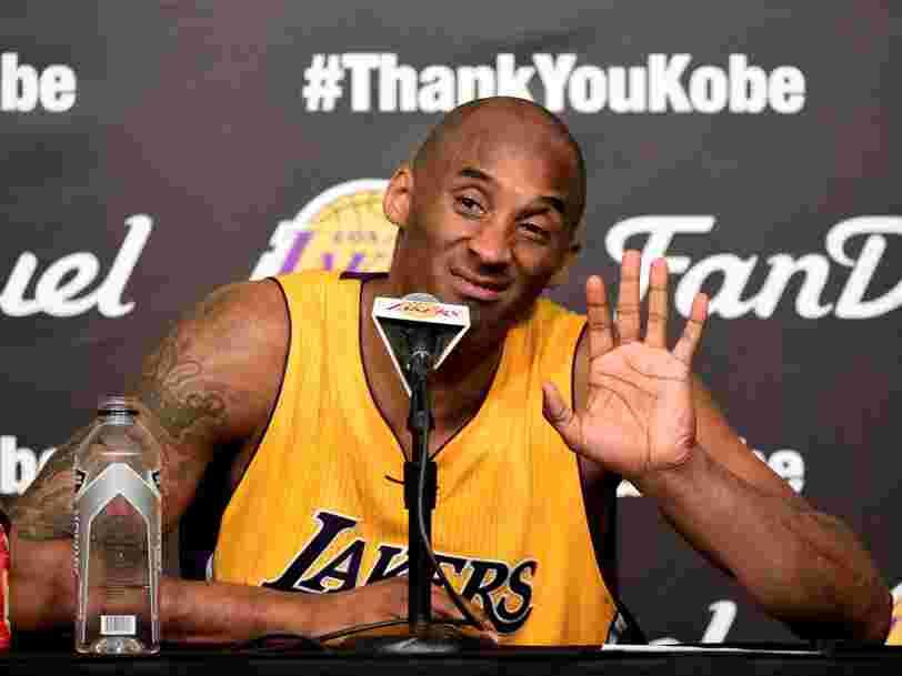 Kobe Bryant has set up a $100 million venture capital fund