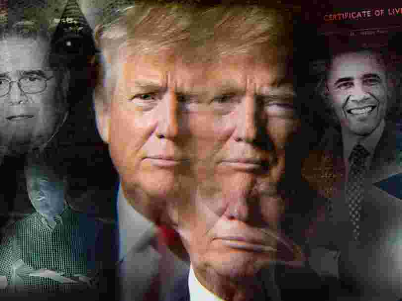 24 outlandish conspiracy theories Donald Trump has floated over the years
