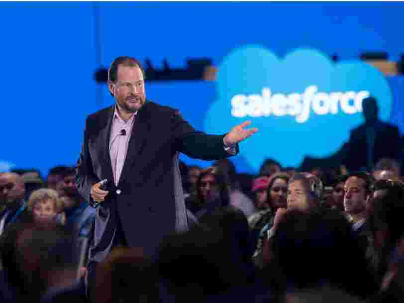 Salesforce will let employees work from home for the rest of the year, even after offices have reopened