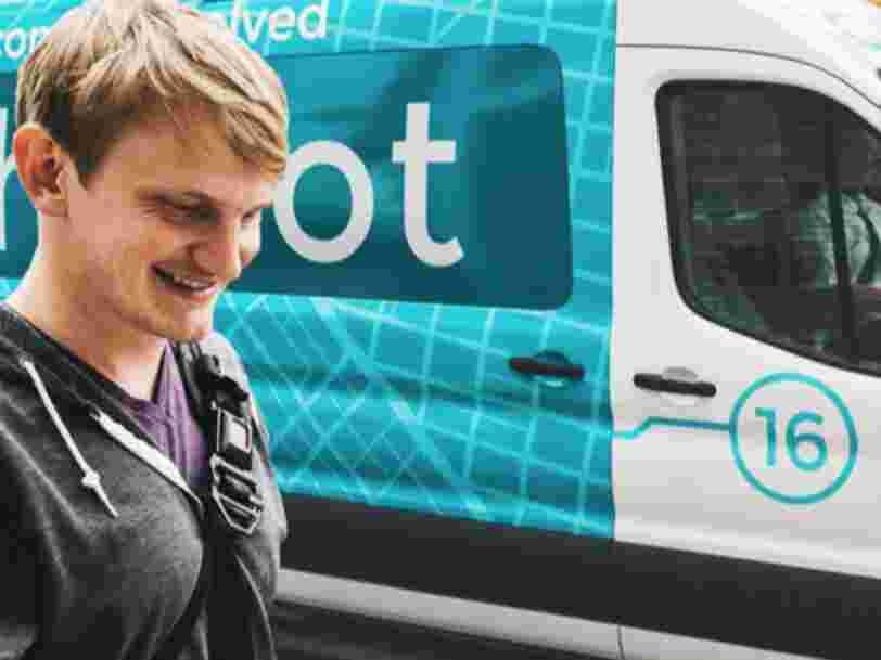 Ford paid more than $65 million for shuttle-van startup Chariot