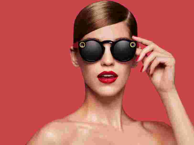 Snap took in $8 million from the sale of its Spectacles