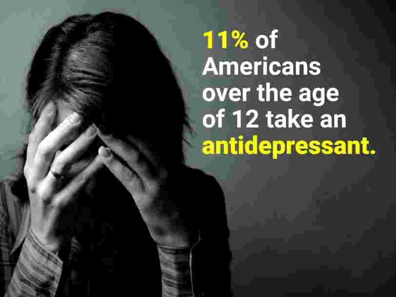 Antidepressant use is rising sharply around the world