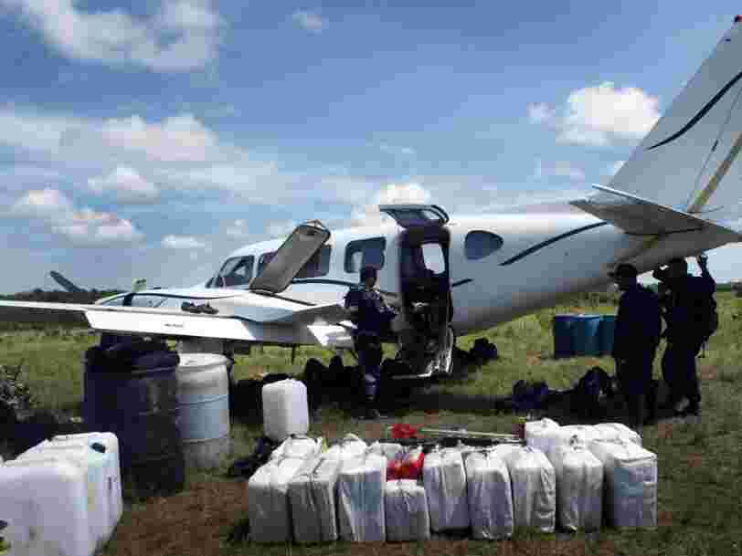 Drug flights are shuttling cocaine and other drugs around South America on a daily basis