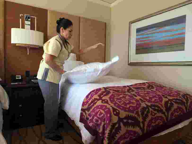 Nearly 4 million people who work in the US hotel industry could lose their jobs due to the coronavirus. Here's how much everyone who works at an American hotel makes.