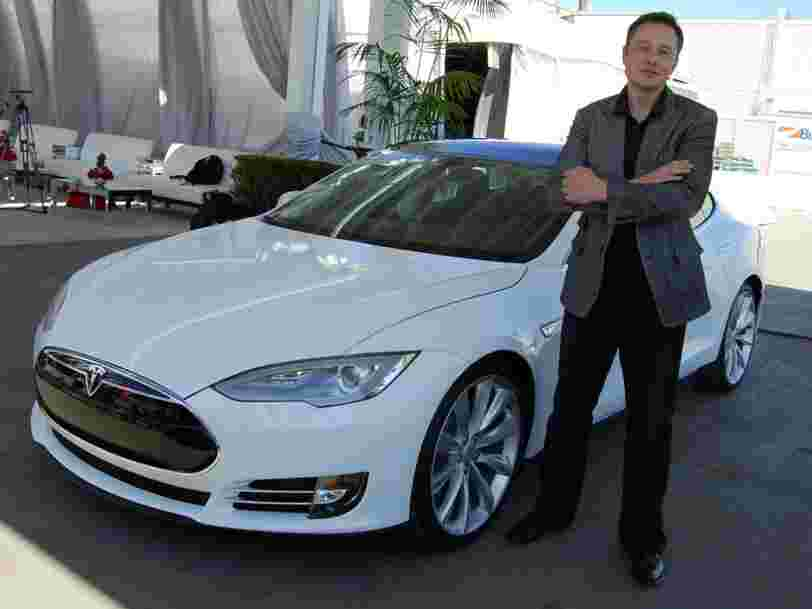 Elon Musk is not getting paid to build cars at Tesla