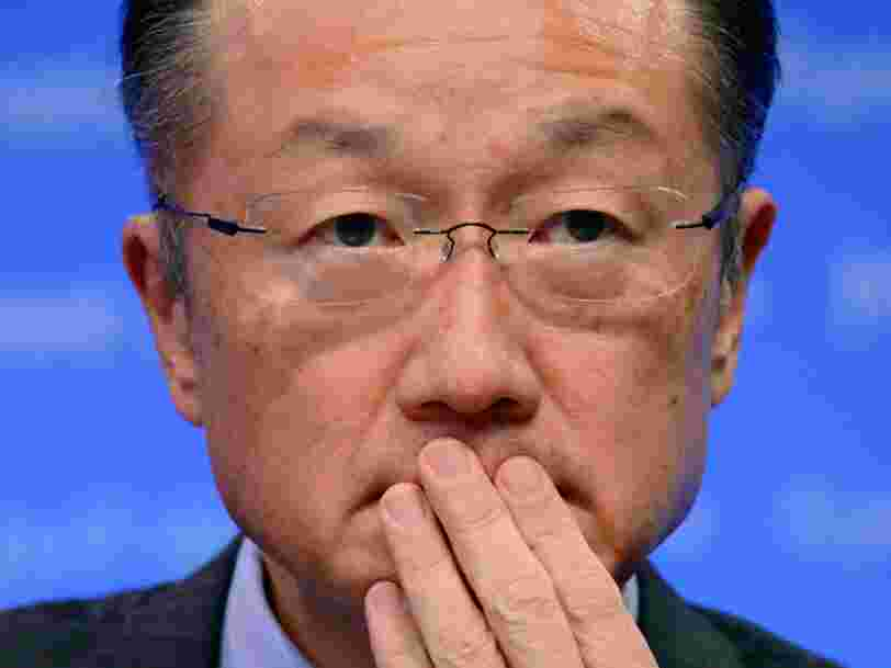 The head of the World Bank is pushing a terrifying prediction for jobs in developing countries