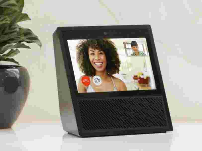 Amazon just revealed a new Echo speaker with a touchscreen