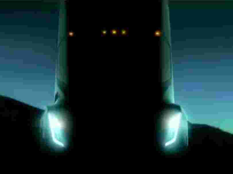Tesla is about to reveal its electric big-rig truck — here's what to expect