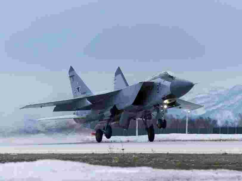 Russia is making wild claims that its MiG-31 successor will be able to fly in space