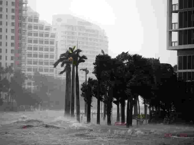 Hurricane Irma knocks out power to 5.8 million Florida homes and businesses