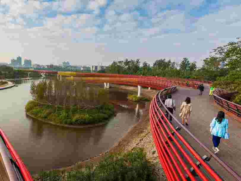China is building 30 'sponge cities' that aim to soak up floodwater and prevent disaster