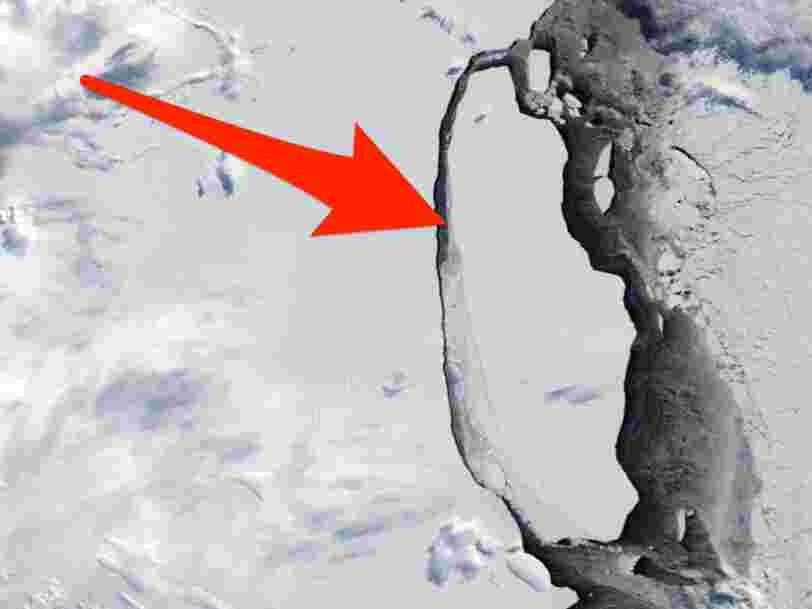 Antarctica's monster A68 iceberg is still alive — but the Maryland-size ice block just pivoted toward its doom